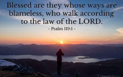 Liturgy Service – Psalm 119:1-8
